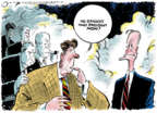 Cartoonist Jack Ohman  Jack Ohman's Editorial Cartoons 2018-12-05 Bush administration