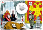 Cartoonist Jack Ohman  Jack Ohman's Editorial Cartoons 2019-01-15 administration