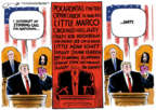 Cartoonist Jack Ohman  Jack Ohman's Editorial Cartoons 2019-02-06 Bush administration