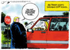 Cartoonist Jack Ohman  Jack Ohman's Editorial Cartoons 2019-09-13 administration