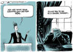 Cartoonist Jack Ohman  Jack Ohman's Editorial Cartoons 2019-09-27 administration