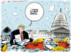Cartoonist Jack Ohman  Jack Ohman's Editorial Cartoons 2019-10-01 administration