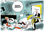 Cartoonist Jack Ohman  Jack Ohman's Editorial Cartoons 2019-11-21 Presidency