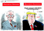 Cartoonist Jack Ohman  Jack Ohman's Editorial Cartoons 2020-01-14 editorial