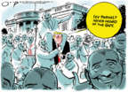 Cartoonist Jack Ohman  Jack Ohman's Editorial Cartoons 2020-01-21 editorial