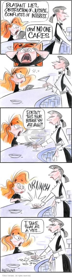 Comic Strip Ann Telnaes  Ann Telnaes Cartoons 2018-06-04 Presidency