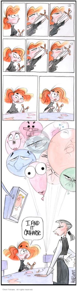 Comic Strip Ann Telnaes  Ann Telnaes Cartoons 2018-07-16 Presidency