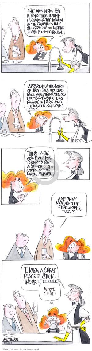 Comic Strip Ann Telnaes  Ann Telnaes Cartoons 2019-05-13 Presidency