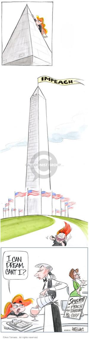 Comic Strip Ann Telnaes  Ann Telnaes Cartoons 2019-06-03 Presidency