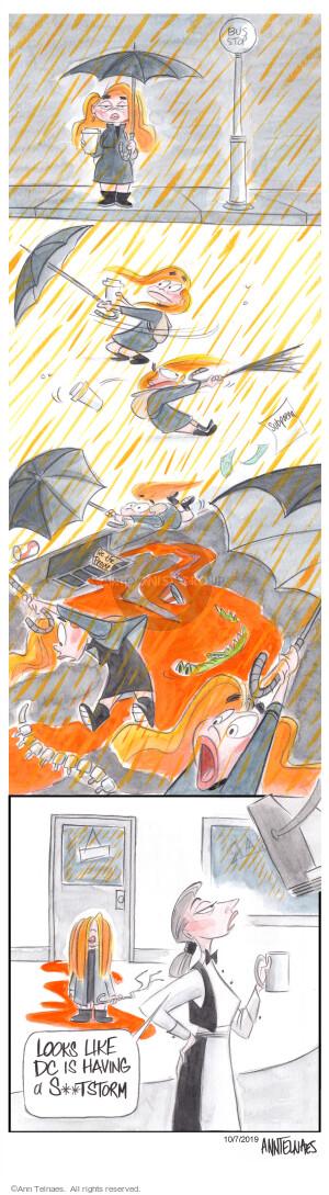 Comic Strip Ann Telnaes  Ann Telnaes Cartoons 2019-10-07 Presidency