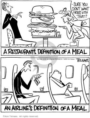 Comic Strip Ann Telnaes  Ann Telnaes Cartoons 2001-09-06 travel