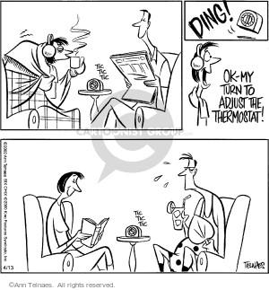 Comic Strip Ann Telnaes  Ann Telnaes Cartoons 2000-04-13 time