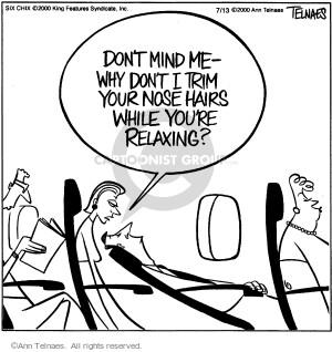 Comic Strip Ann Telnaes  Ann Telnaes Cartoons 2000-07-13 travel