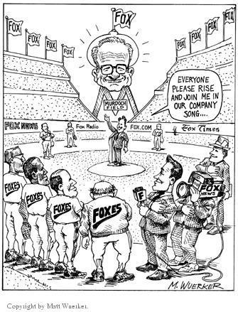 Matt Wuerker  Matt Wuerker's Editorial Cartoons 2002-00-00 Fox News