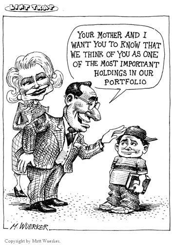Matt Wuerker  Matt Wuerker's Editorial Cartoons 2001-01-02 parenting