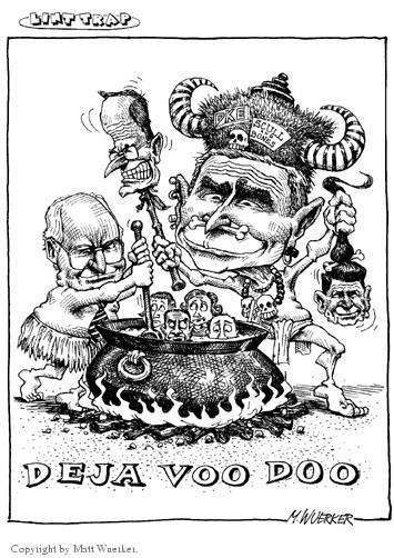 Cartoonist Matt Wuerker  Matt Wuerker's Editorial Cartoons 2001-01-23 hex
