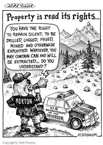 Matt Wuerker  Matt Wuerker's Editorial Cartoons 2001-01-30 forest