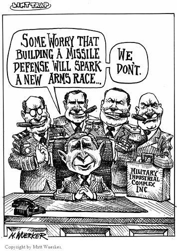 Cartoonist Matt Wuerker  Matt Wuerker's Editorial Cartoons 2001-05-21 military