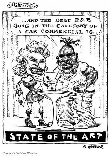 Cartoonist Matt Wuerker  Matt Wuerker's Editorial Cartoons 2001-06-04 musical