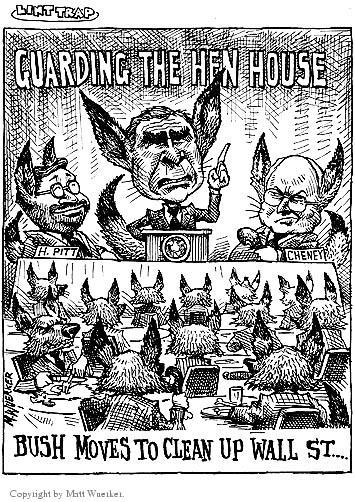Cartoonist Matt Wuerker  Matt Wuerker's Editorial Cartoons 2002-05-27 vice president