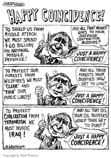 Cartoonist Matt Wuerker  Matt Wuerker's Editorial Cartoons 2002-07-15 forest fire