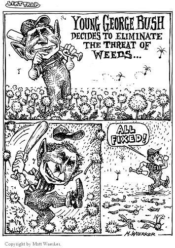 Cartoonist Matt Wuerker  Matt Wuerker's Editorial Cartoons 2002-10-28 source