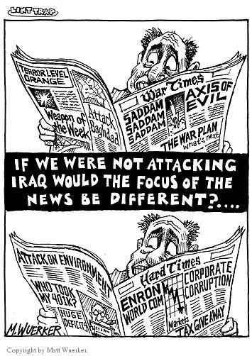 Cartoonist Matt Wuerker  Matt Wuerker's Editorial Cartoons 2002-11-11 recession