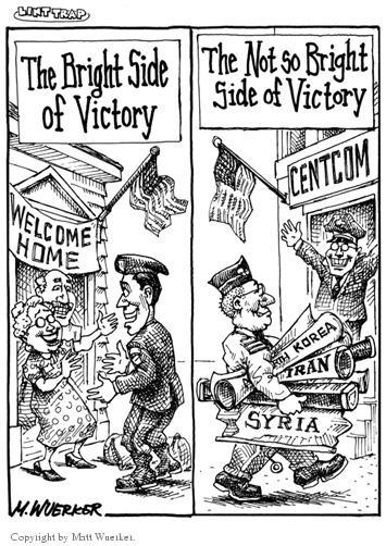 Cartoonist Matt Wuerker  Matt Wuerker's Editorial Cartoons 2002-12-16 military