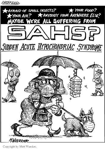Cartoonist Matt Wuerker  Matt Wuerker's Editorial Cartoons 2003-01-20 illness