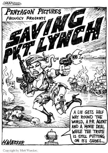Cartoonist Matt Wuerker  Matt Wuerker's Editorial Cartoons 2003-01-27 conflict