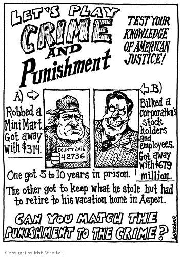 Cartoonist Matt Wuerker  Matt Wuerker's Editorial Cartoons 2003-02-17 court