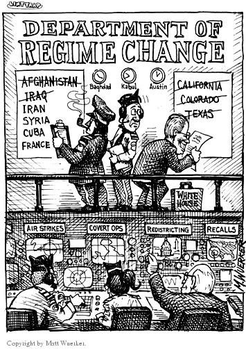 Matt Wuerker  Matt Wuerker's Editorial Cartoons 2003-10-15 California
