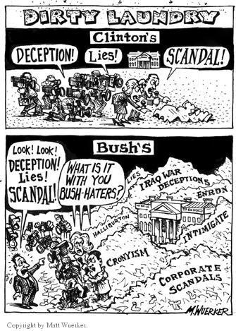 Cartoonist Matt Wuerker  Matt Wuerker's Editorial Cartoons 2004-01-14 hater