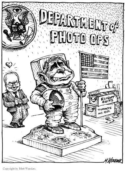 Cartoonist Matt Wuerker  Matt Wuerker's Editorial Cartoons 2004-01-30 Abraham Lincoln