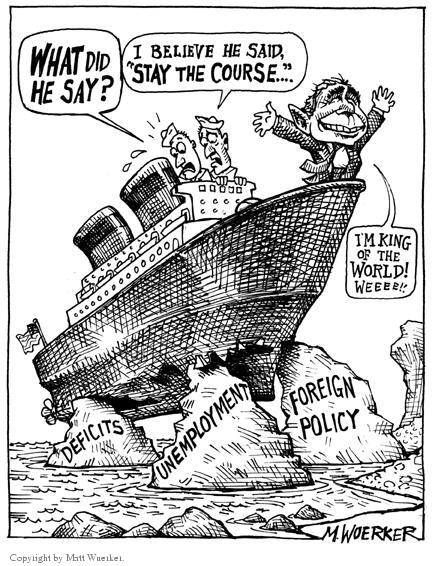 Matt Wuerker  Matt Wuerker's Editorial Cartoons 2004-01-30 diplomatic
