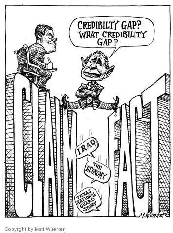 Matt Wuerker  Matt Wuerker's Editorial Cartoons 2004-02-25 honest