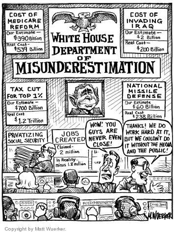 Matt Wuerker  Matt Wuerker's Editorial Cartoons 2004-04-16 $200
