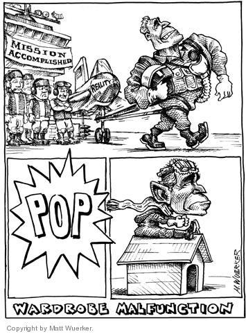 Matt Wuerker  Matt Wuerker's Editorial Cartoons 2004-04-17 mission