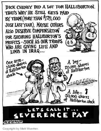 Cartoonist Matt Wuerker  Matt Wuerker's Editorial Cartoons 2004-04-26 military