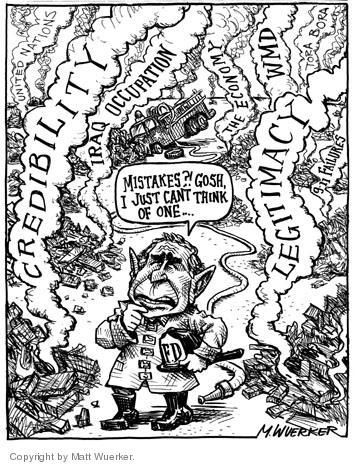 Cartoonist Matt Wuerker  Matt Wuerker's Editorial Cartoons 2004-04-29 Osama bin Laden