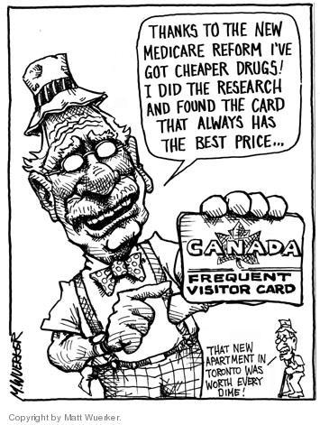 Cartoonist Matt Wuerker  Matt Wuerker's Editorial Cartoons 2004-05-14 cost