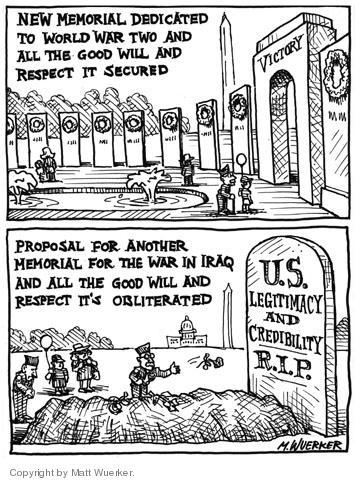 Cartoonist Matt Wuerker  Matt Wuerker's Editorial Cartoons 2004-05-29 respect