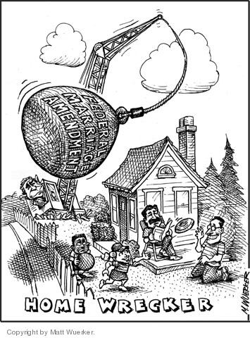 Cartoonist Matt Wuerker  Matt Wuerker's Editorial Cartoons 2004-06-18 George W. Bush