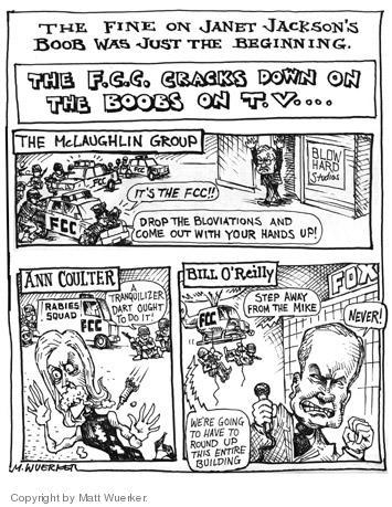 Matt Wuerker  Matt Wuerker's Editorial Cartoons 2004-09-30 freedom of the press