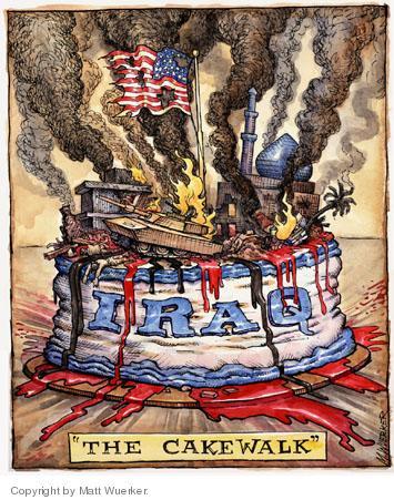 Cartoonist Matt Wuerker  Matt Wuerker's Editorial Cartoons 2004-10-15 flame
