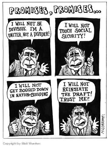 Matt Wuerker  Matt Wuerker's Editorial Cartoons 2004-10-22 2000 election