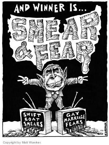 Matt Wuerker  Matt Wuerker's Editorial Cartoons 2004-11-05 2004 election