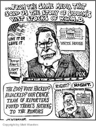 Matt Wuerker  Matt Wuerker's Editorial Cartoons 2004-11-12 2004 election