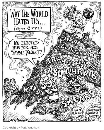 Matt Wuerker  Matt Wuerker's Editorial Cartoons 2004-12-03 Imperial Presidency