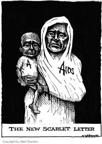 Cartoonist Matt Wuerker  Matt Wuerker's Editorial Cartoons 2004-12-03 HIV - AIDs